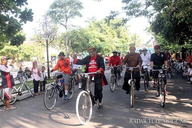 Rangkaian Peringatan Hari Jadi Kabupaten Tulungagung 812 Ribuan Peserta Ikuti