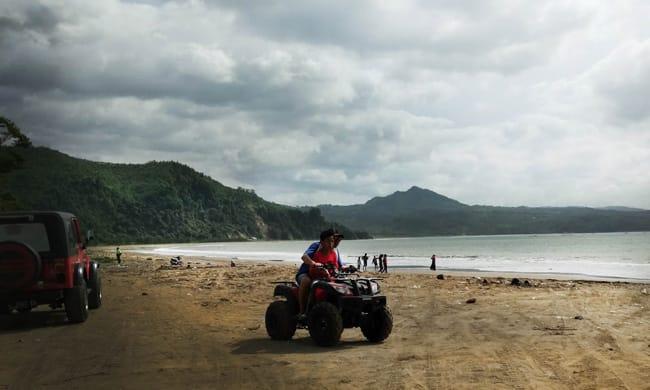 Rute Lokasi Pantai Gemah Tulungagung Fasilitas Tersedia Taman Aloon Kab