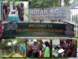 Tulungagungramai November 2016 Hutan Kota Tulngagung Huko Park Terletak Jl