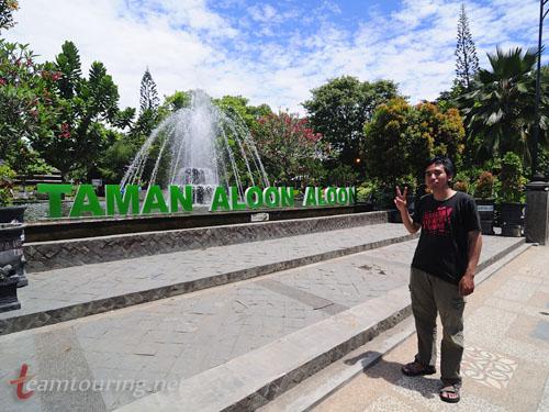 Wajah Alun Tulungagung Teamtouring Annosmile Taman Aloon Kab