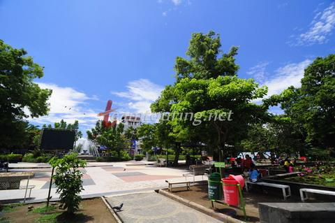 Wajah Alun Tulungagung Teamtouring Salah Satu Sudut Taman Aloon Kab