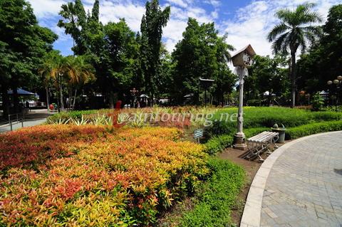 Wajah Alun Tulungagung Teamtouring Suasana Taman Aloon Kab