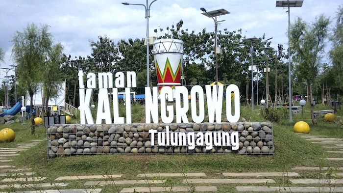 Hari Sungai Dunia Lestari Sungaiku Alamku Kota Hijau Taman Ngrowo