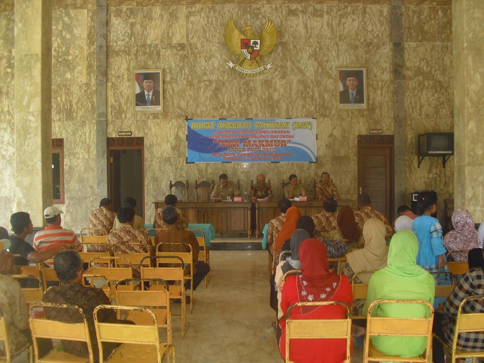 Bpp Campurdarat Tulungagung Jawa Timur Rat Gapoktan Tani Makmur Kabupaten