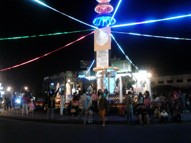 1 000 Obor Sambut Hari Raya Idul Fitri Desa Margototo