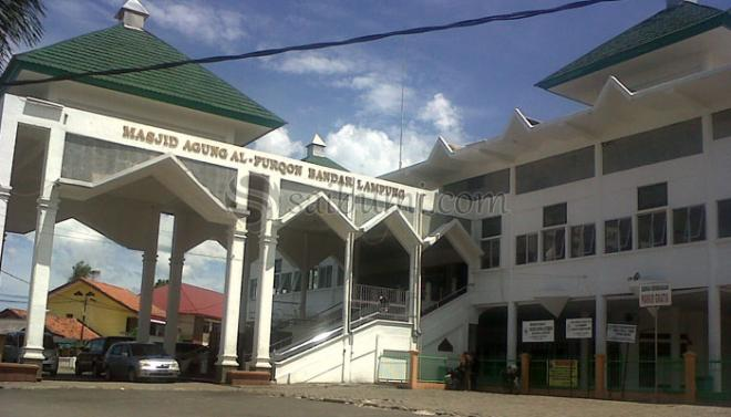 Abadikan Momen Indah Islami Masjid Agung Al Furqon Bandar Lampung