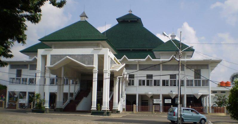 Diklaim Jadi Menara Tertinggi Bandar Lampung Masjid Al Furqon Bakal