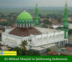 Masjid Agung Al Furqon Bandar Lampung Indonesia Masjids Beauty Kab