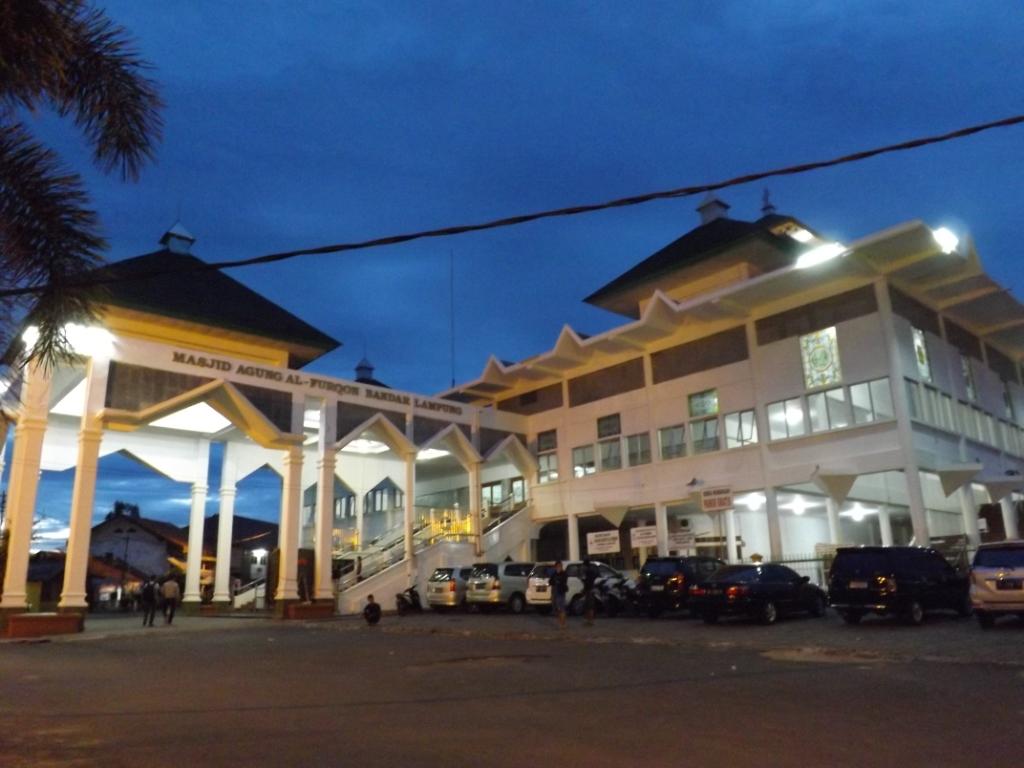 Masjid Agung Al Furqon Bandar Lampung Semalam Kab Kanan
