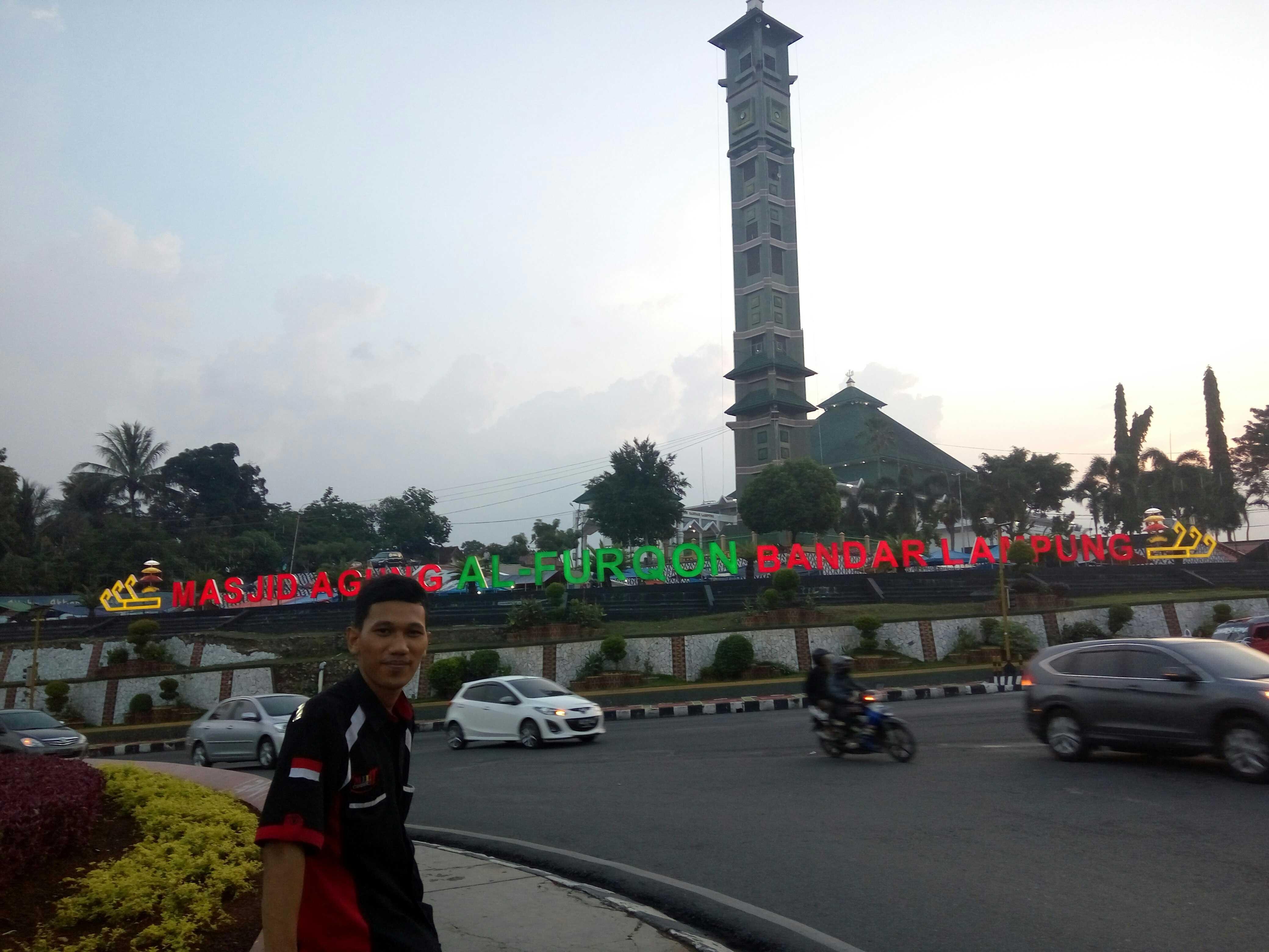 Masjid Agung Al Furqon Bandar Lampung Steemkr Kab Kanan