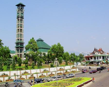 Masjid Agung Al Furqon Kontraktor Kubah Salah Satu Lampung Berada