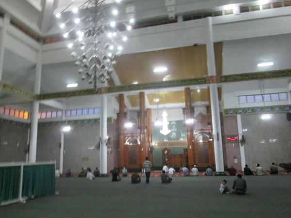 Wisata Masjid Agung Al Furqon Kebanggaan Warga Lampung Susana Setelah