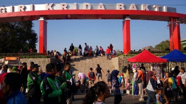 Alun Wonogiri Jadi Lokasi Wisata Kota Kab