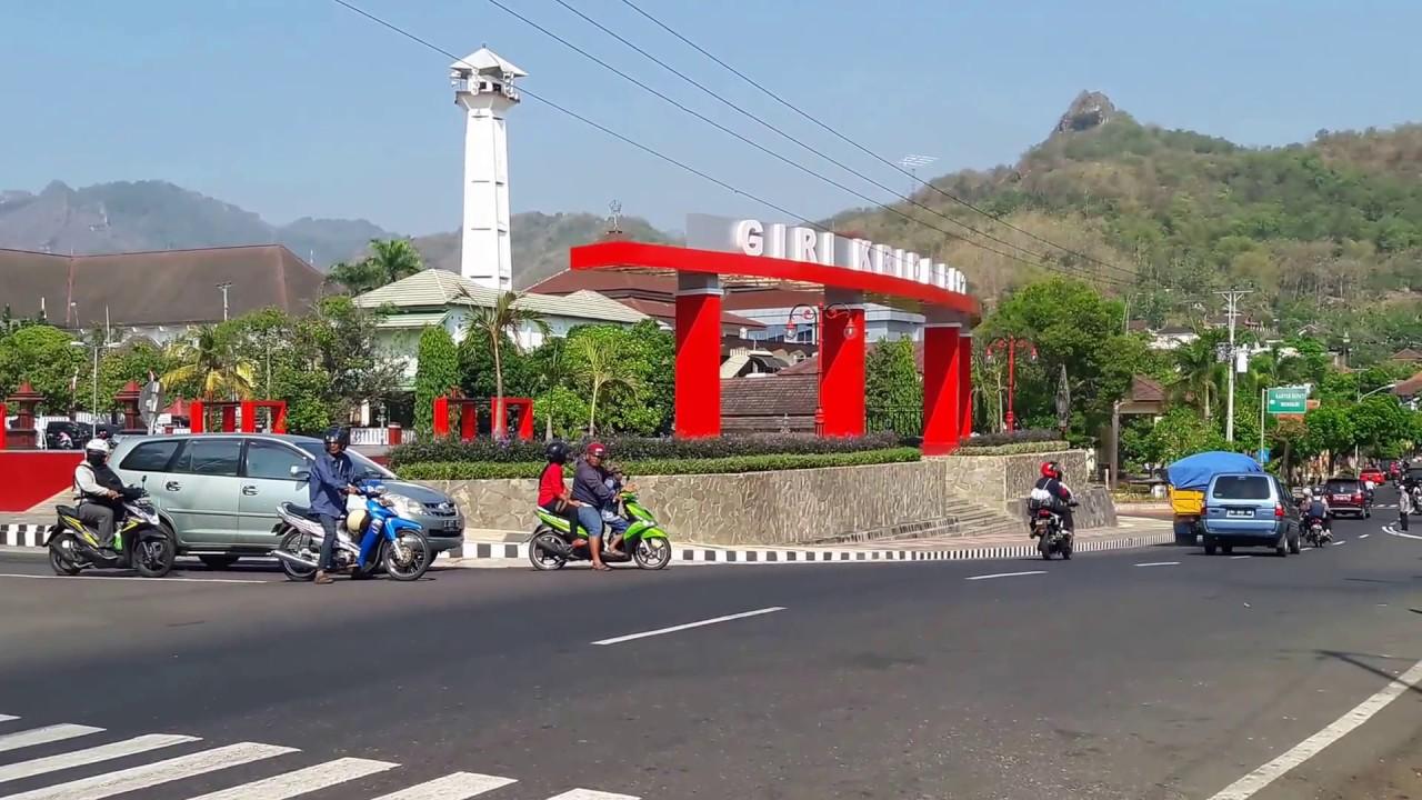 Alun Wonogiri Panorama Gunung Gandul Youtube Kota Kab