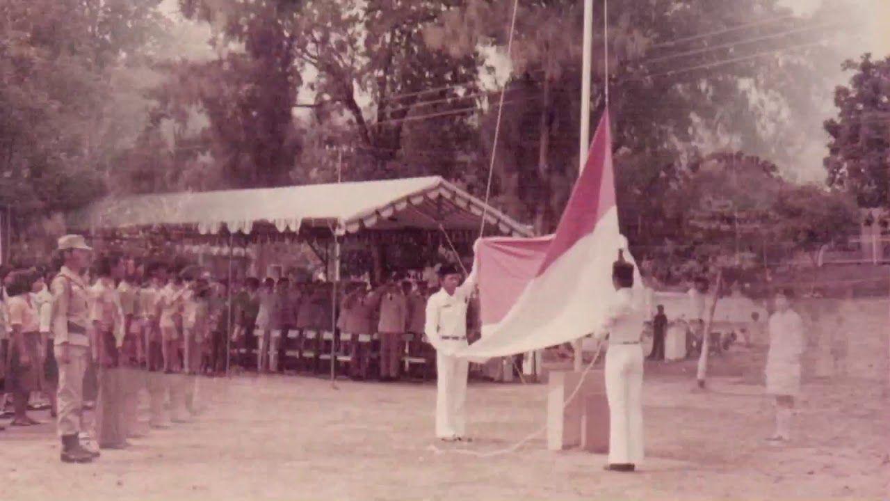 Foto Lawas Upacara Alun Wonogiri 1980 Kang Utis Kota Kab