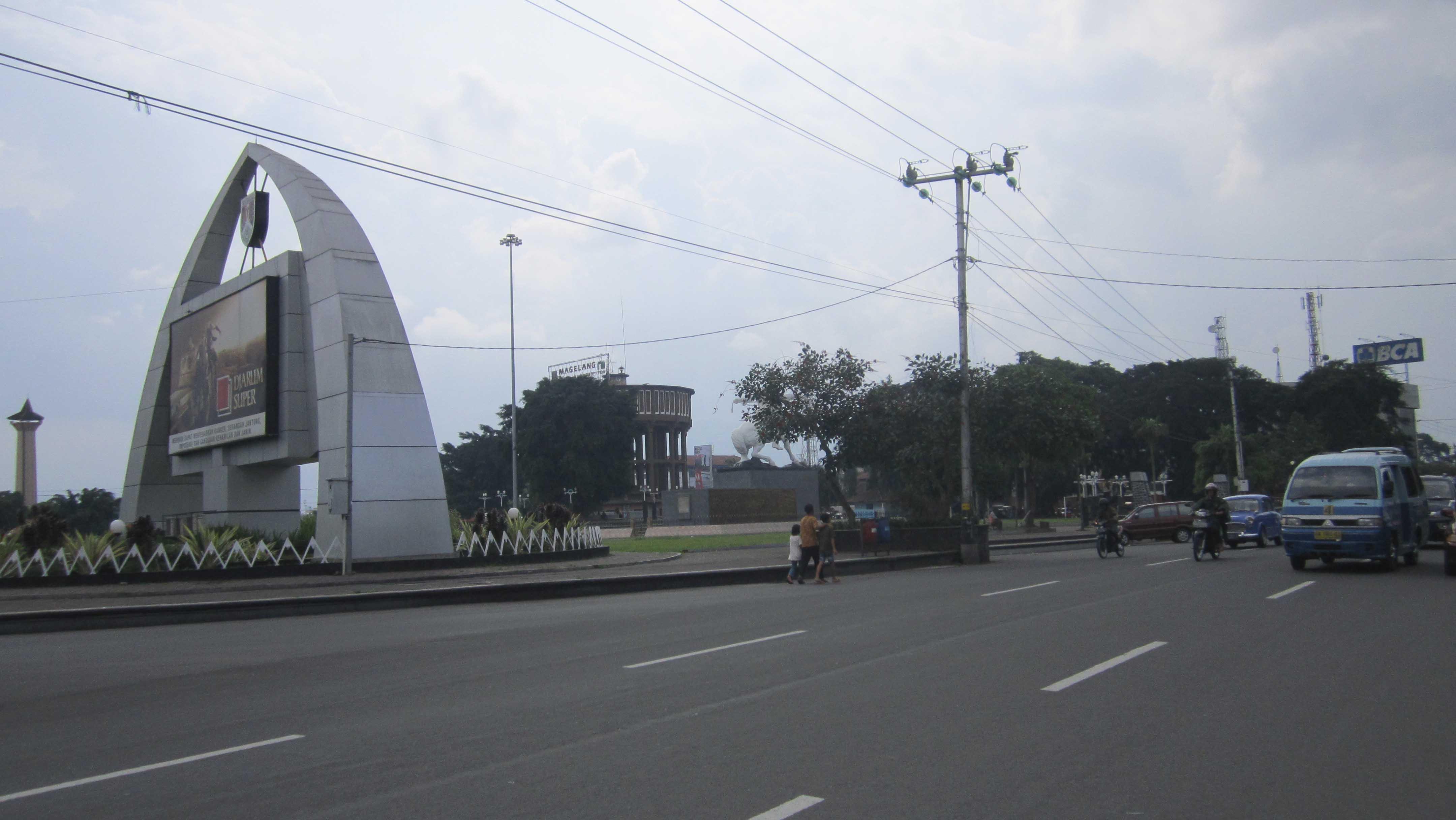 Jalan Alun Magelang Jpg Landscape City Kota Kab Wonogiri