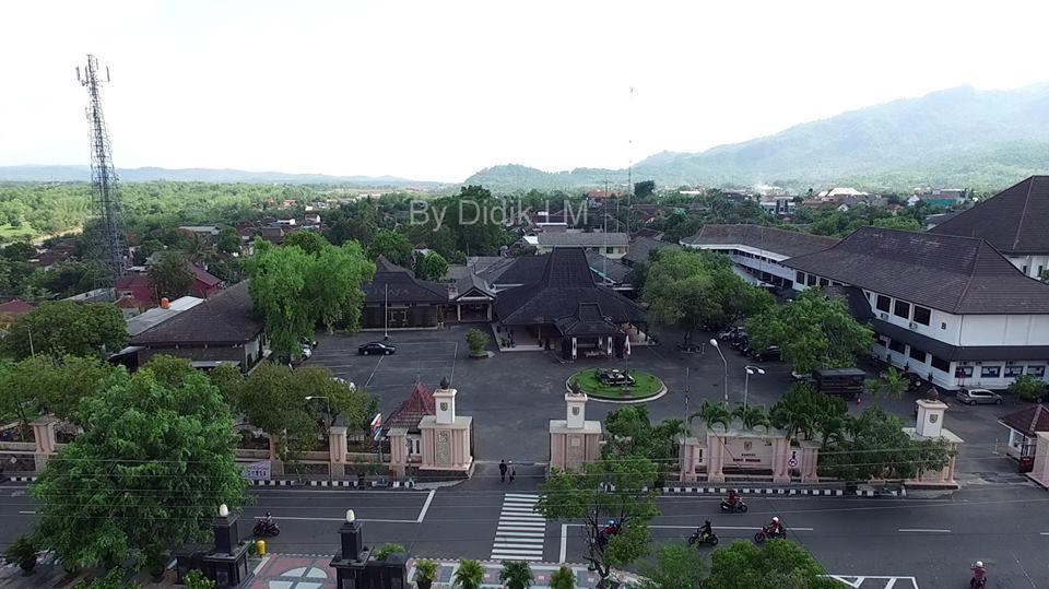 Melihat Kota Wonogiri Lewat Foto Drone Informasi Batas Satelit9 Info