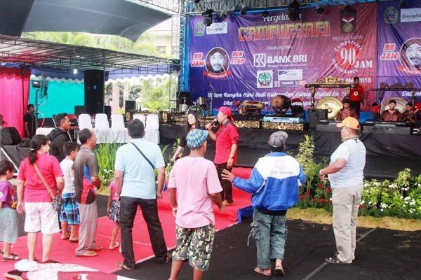 Pecahkan Rekor Pemkab Wonogiri Gelar Pentas Campursari 100 Jam Alun
