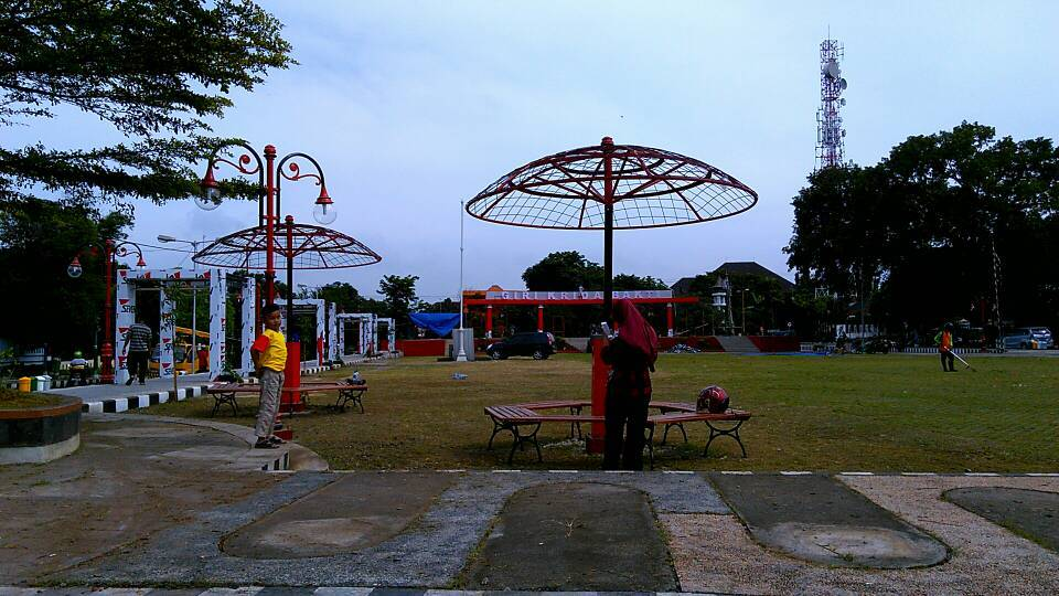 Penampakan Wajah Alun Giri Krida Bakti Wonogiri Asedino Foto Pangeran