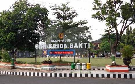 Pesona Keindahan Objek Wisata Alun Kota Wonogiri Jawa Tengah Kab