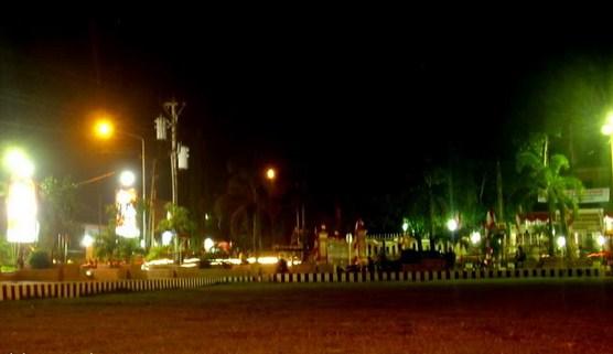 Pesona Keindahan Objek Wisata Alun Kota Wonogiri Jawa Tengah Sarankan
