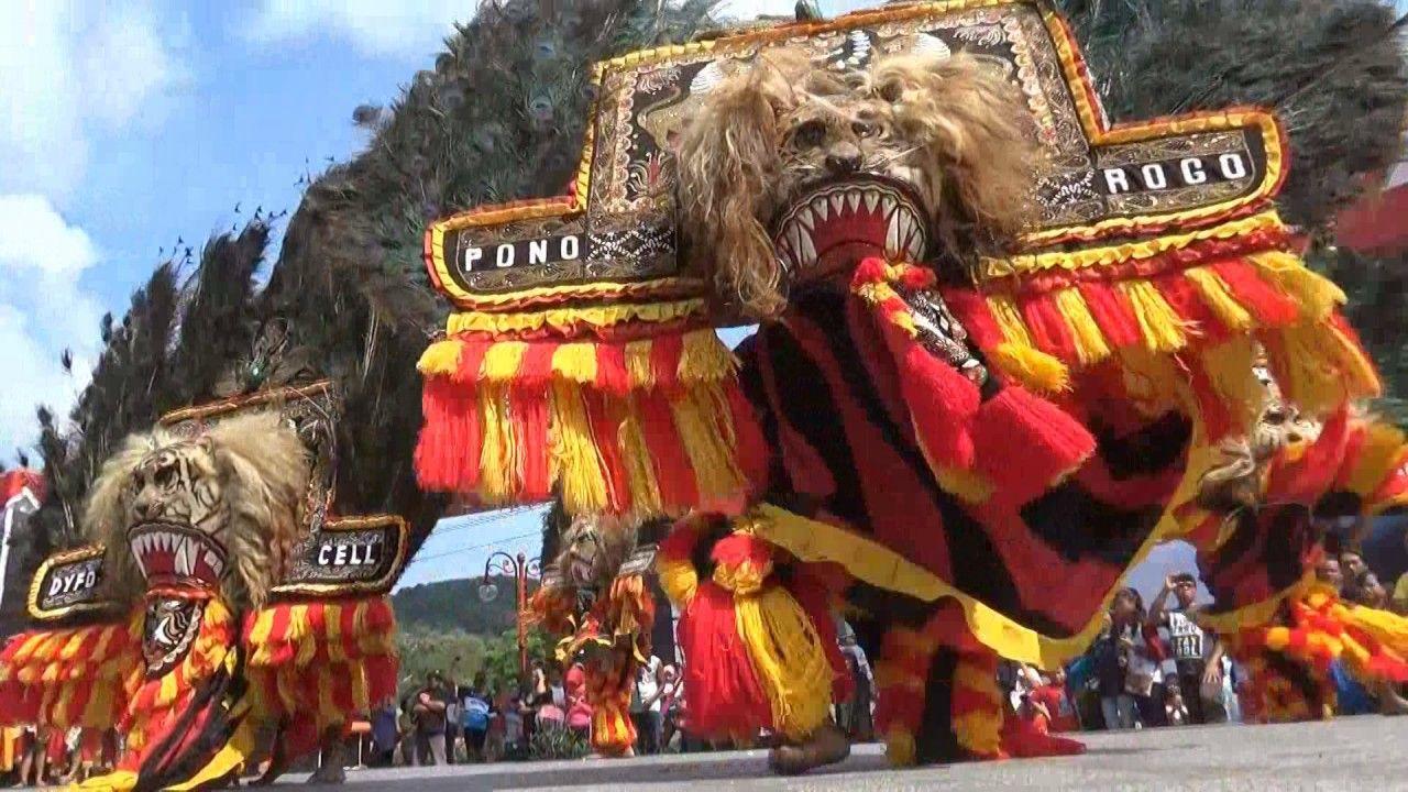 Spektakuler Tari Kolosal Reog Ponorogo Alun Wonogiri Kota Kab