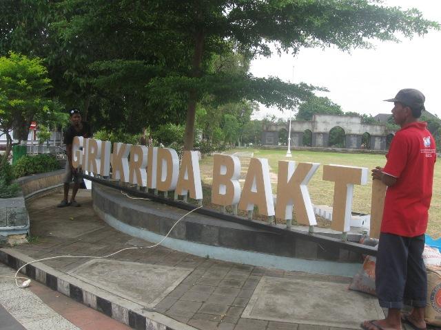 Wisata Wonogiri Pemkab Percantik 5 Lokasi Selfie Alun Kota Kab