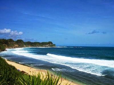 12 Tempat Wisata Kabupaten Wonogiri Indah Pantai Nampu Memiliki Pemandangan