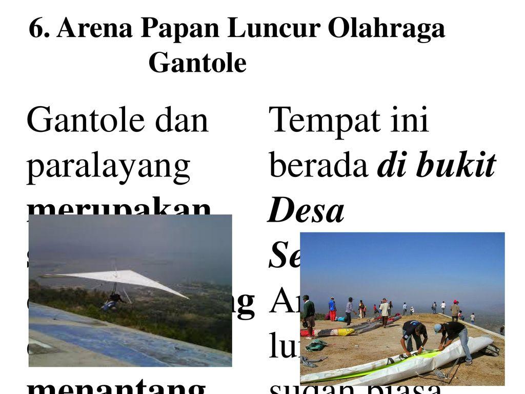 Pesona Keindahan Wonogiri Ppt Download Arena Papan Luncur Olahraga Gantole