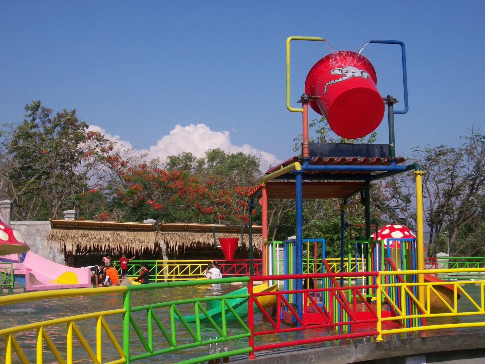 Sekilas Kabupaten Wonogiri Arena Papan Luncur Olahraga Gantole Kab