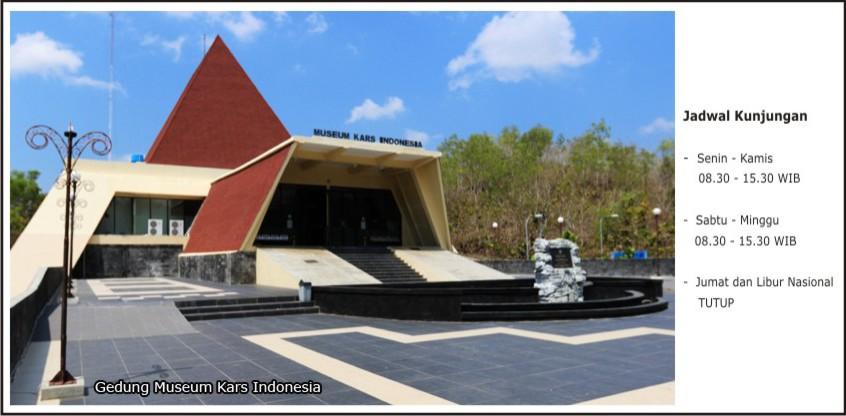 Museum Geologi Kars Indonesia Depan Karst Dunia Kab Wonogiri
