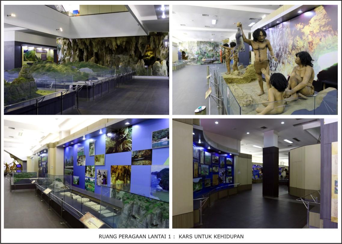 Museum Geologi Kars Indonesia Lantai 2 Bertema Ilmu Pengetahuan Berisi