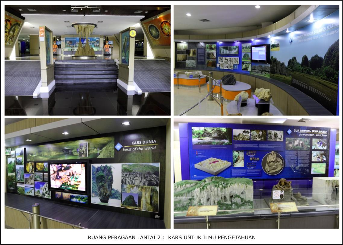 Museum Geologi Kars Indonesia Peraga Tentang Sebaran Bentuk Dunia Proses