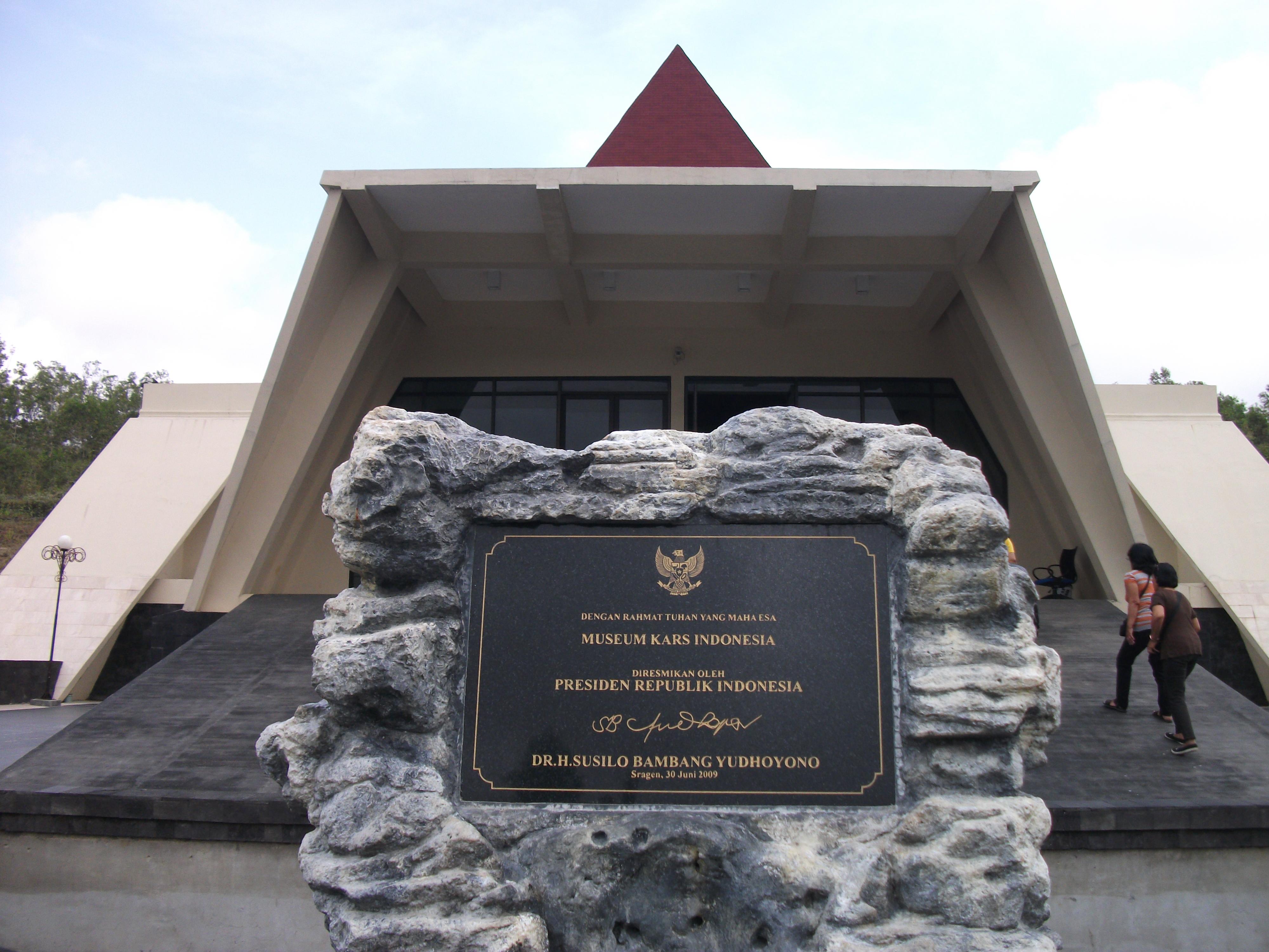 Pesona Kota Gaplek Museum Karst Indonesia Andityadewigha Dunia Kab Wonogiri