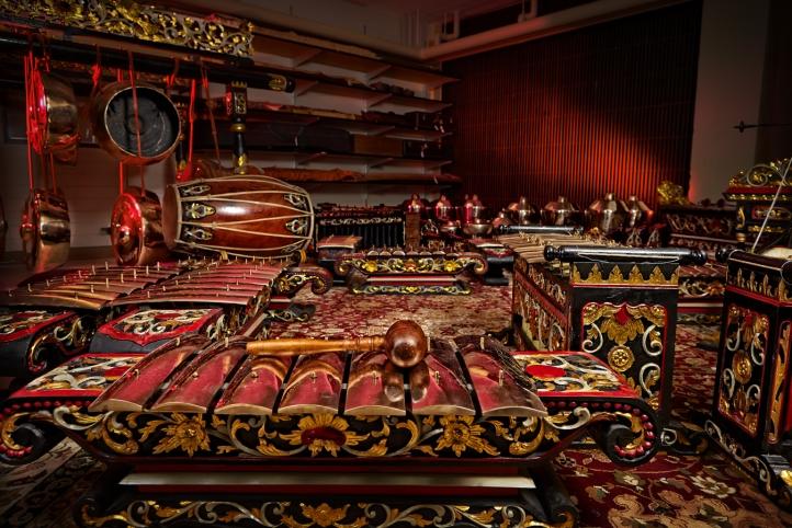 Ethnomusicology Concert Javanese Gamelan Music School Museum Wayang Kulit Indonesia