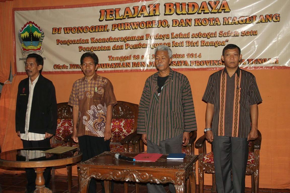 Jiwa Nusantara Agustus 2014 Pewarisan Berbagai Unsur Budaya Diawali Pengenalan