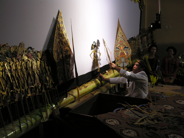 Museum International Folk Art Dancing Shadows Performance Wonogiri Central Java