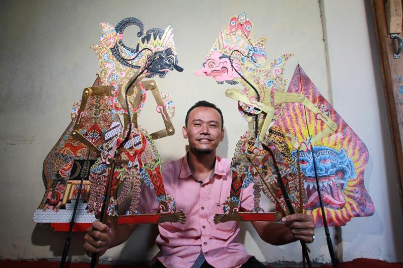 Proses Pembuatan Wayang Kulit Manyaran Wonogiri Catatan Museum Indonesia Kab