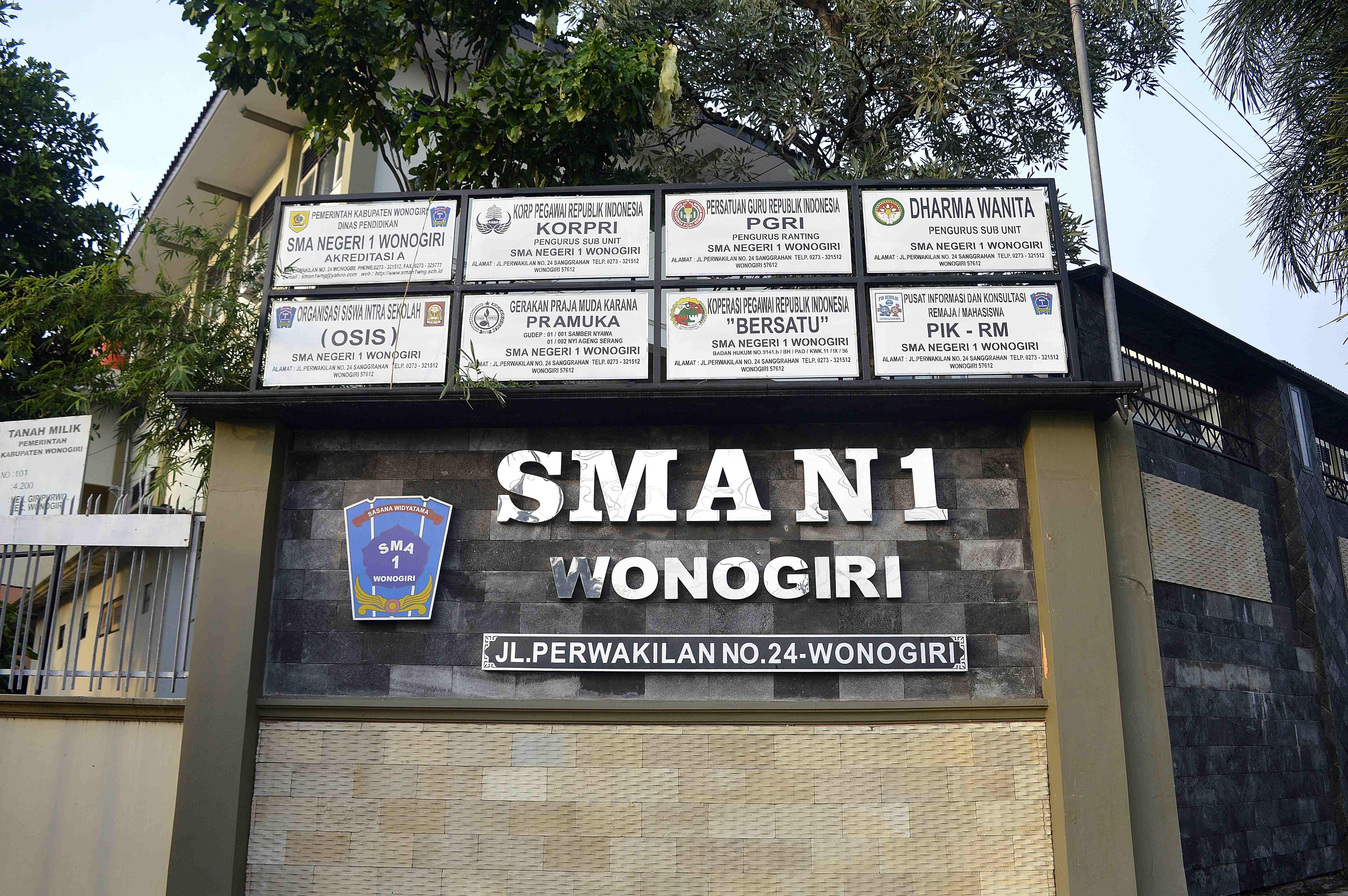 Sma Negeri 1 Wonogiri Wikiwand Museum Wayang Kulit Indonesia Kab