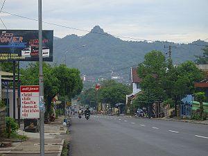 Wonogiri Wikipedia Bahasa Indonesia Ensiklopedia Bebas Pemandangan Tampak Gunung Gandul