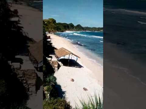 Indahnya Pantai Nampu Gunturharjo Paranggupito Kabupaten Wonogiri Jawa Tengah Kab
