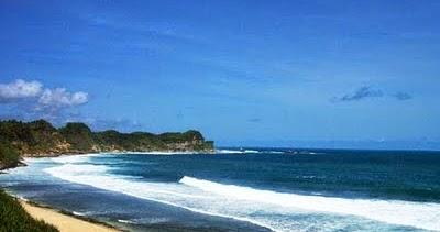 Keindahan Alam Pantai Nampu Wonogiri Tempat Wisata Terindah Kab