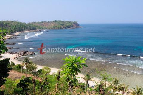 Pantai Nampu Bukit Indah Pemekaran Kawasan Wisata Wediombo Atas Gunungkidul