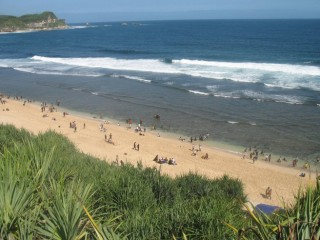 Pantai Nampu Cantik Wonogiri Yuk Piknik Kab