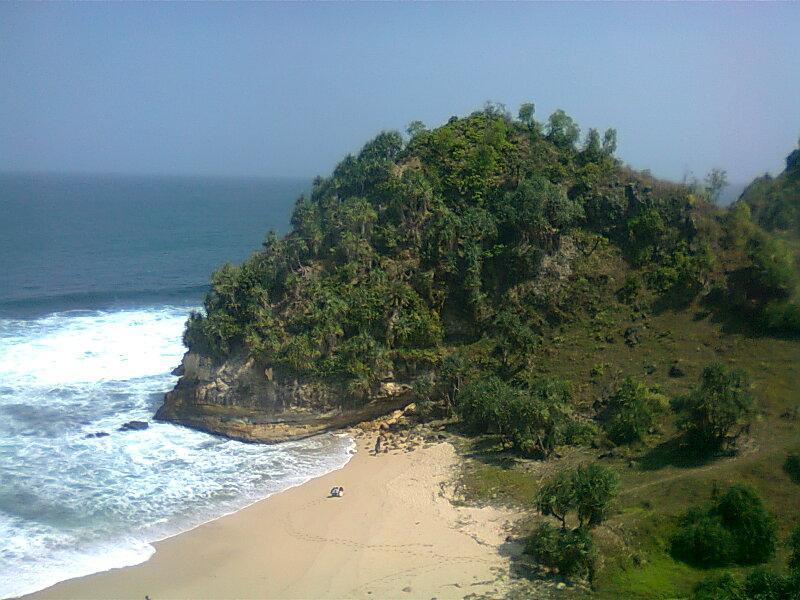 Pantai Nampu Pacitan Wisata Indah Menawan Bagian Timur Wonogiri Kab