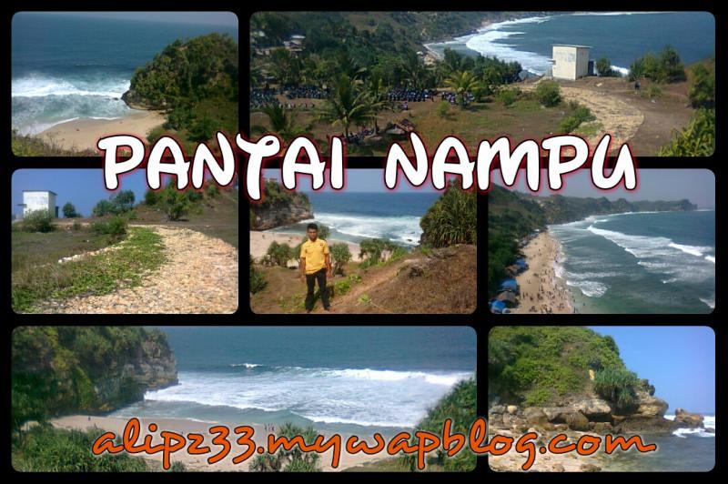 Pantai Nampu Pacitan Wisata Indah Menawan Gambar Foto Winogiri Kab