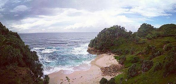 Pantai Nampu Wisata Wonogiri Eksotis Kab