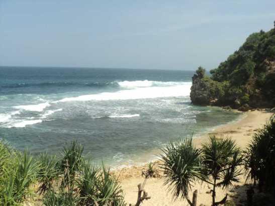 Pantai Nampu Wonogiri Bersih Wisata Kebun Buah Sirsak Kab