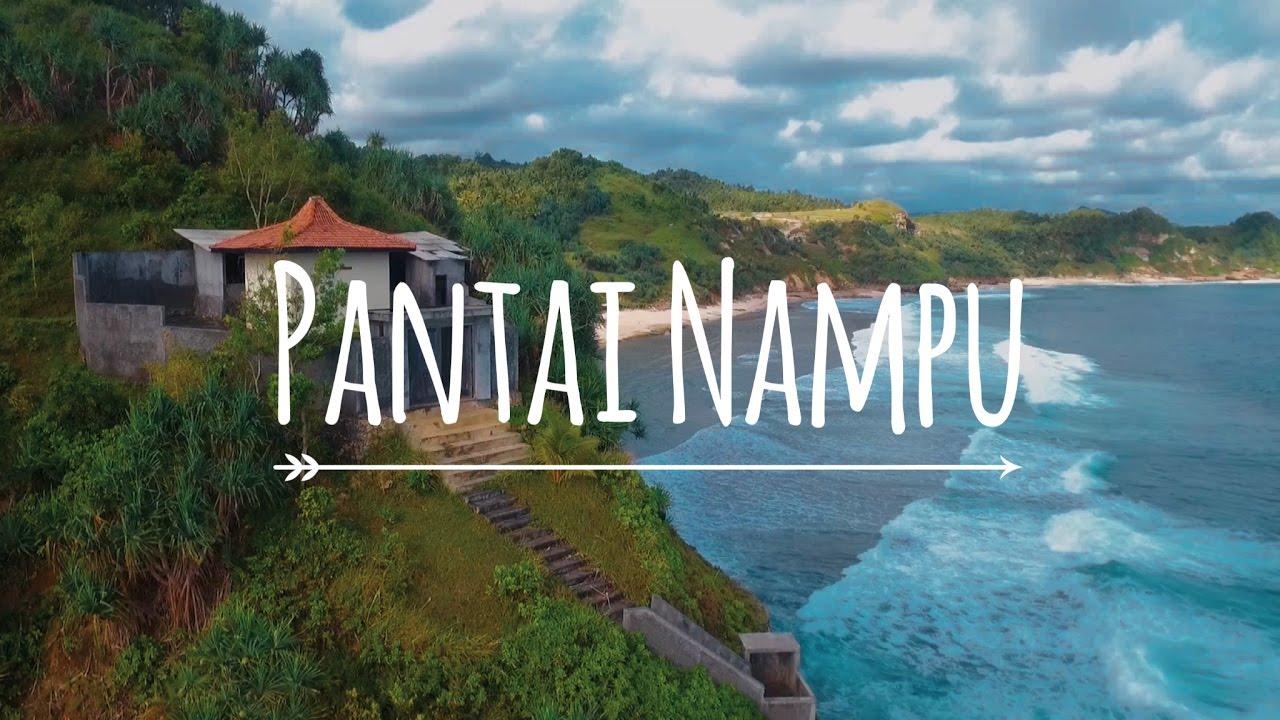 Pantai Nampu Wonogiri Bibir Samudera Hindia Eksotis Youtube Kab