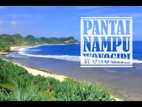 Pantai Nampu Wonogiri Eksotis Mempesona Youtube Kab